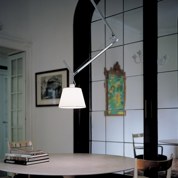 artemide tolomeo sospensione decentrata pendelleuchte. Black Bedroom Furniture Sets. Home Design Ideas