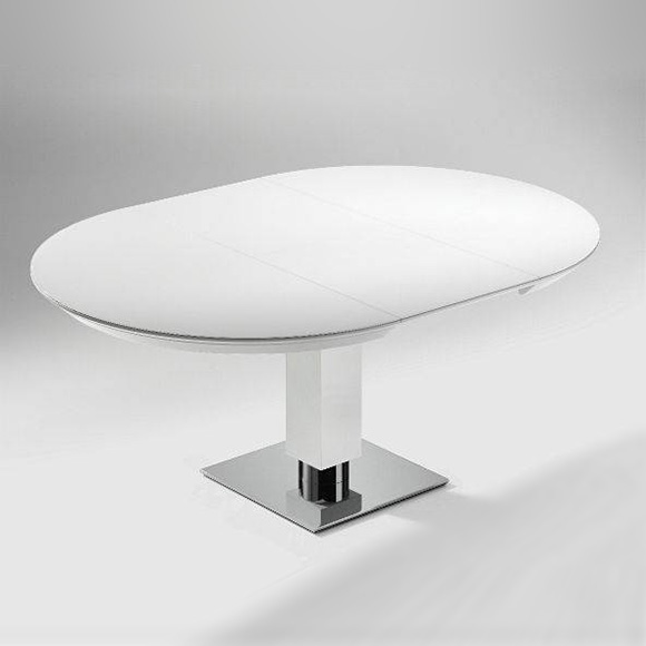 tisch rund weis ausziehbar die neueste innovation der innenarchitektur und m bel. Black Bedroom Furniture Sets. Home Design Ideas