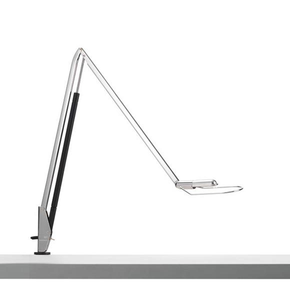 belux liftolino led tischleuchte mit tischzwinge dimmer und ver nderbarer lichtfarbe 51000104. Black Bedroom Furniture Sets. Home Design Ideas