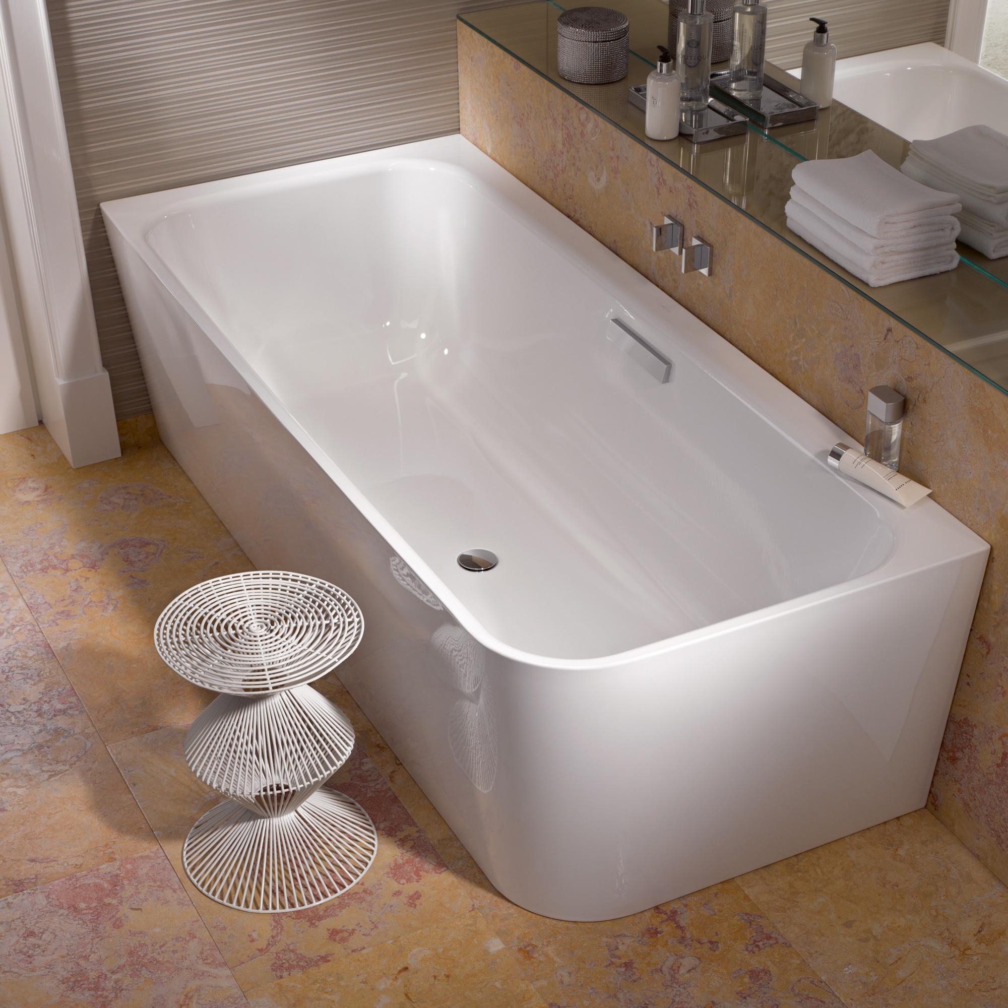 bette art iv badewanne mit ab und berlaufgarnitur ohne wanneneinlauf chrom 3480 000cerhk. Black Bedroom Furniture Sets. Home Design Ideas