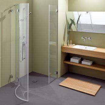 bette floor corner viertelkreis duschwanne anthrazit 402. Black Bedroom Furniture Sets. Home Design Ideas