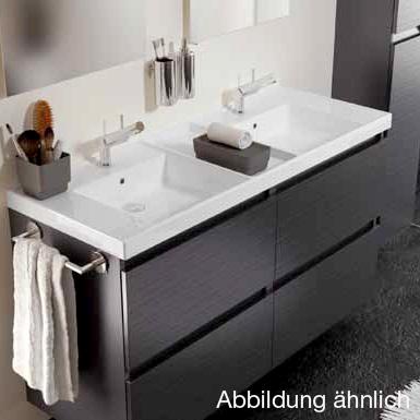 cosmic b box doppel waschtisch mit unterschrank mit 4. Black Bedroom Furniture Sets. Home Design Ideas