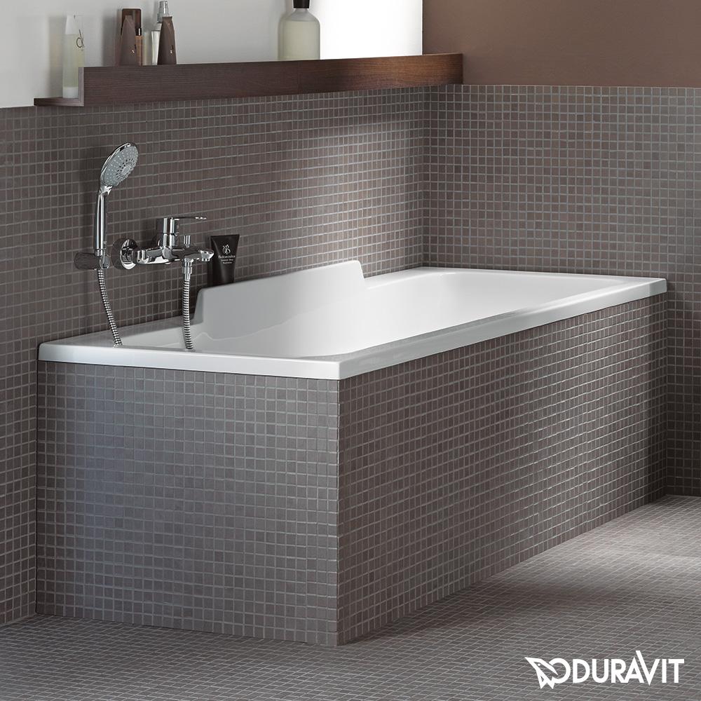 duravit durastyle rechteck badewanne r ckenschr ge rechts. Black Bedroom Furniture Sets. Home Design Ideas