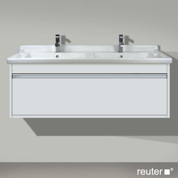 duravit ketho waschtischunterbau f r doppelwaschtisch weiss matt kt666601818 reuter onlineshop. Black Bedroom Furniture Sets. Home Design Ideas