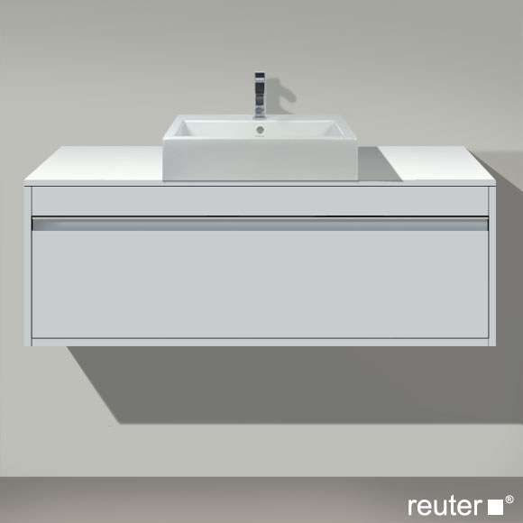 duravit ketho waschtischunterbau mit 1 auszug weiss matt kt669601818 reuter onlineshop. Black Bedroom Furniture Sets. Home Design Ideas