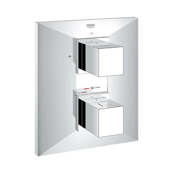 grohe allure brilliant up thermostat wannenbatterie 19792000 reuter onlineshop. Black Bedroom Furniture Sets. Home Design Ideas