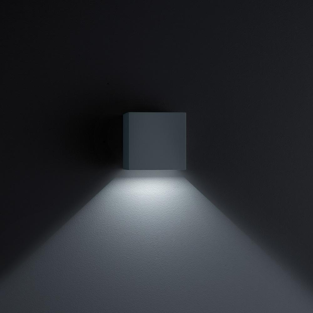 helestra siri 44 led wandleuchte lichtaustritt unten. Black Bedroom Furniture Sets. Home Design Ideas