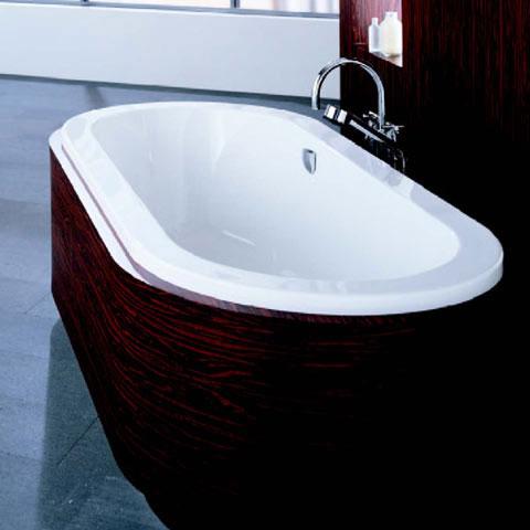 hoesch scelta badewanne oval berlauf links wei reuter onlineshop. Black Bedroom Furniture Sets. Home Design Ideas