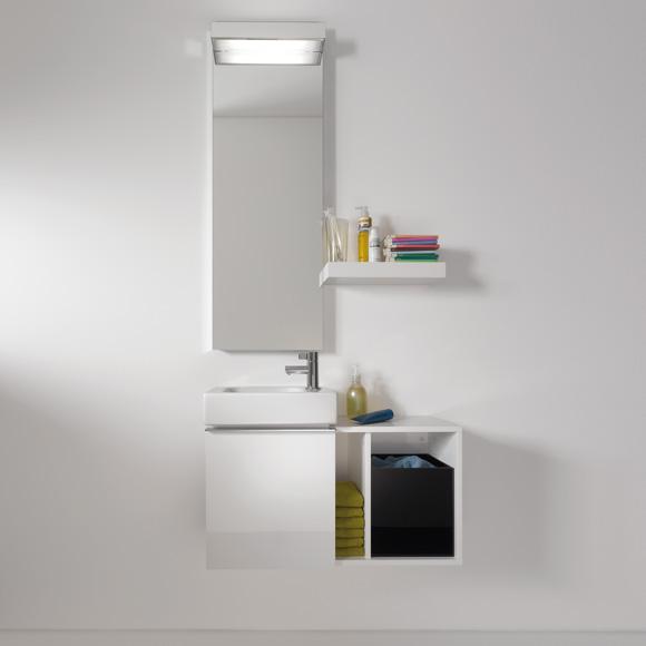 keramag icon xs handwaschbecken unterschrank front und. Black Bedroom Furniture Sets. Home Design Ideas
