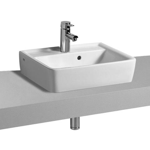 keramag renova nr 1 plan aufsatz handwaschbecken wei. Black Bedroom Furniture Sets. Home Design Ideas
