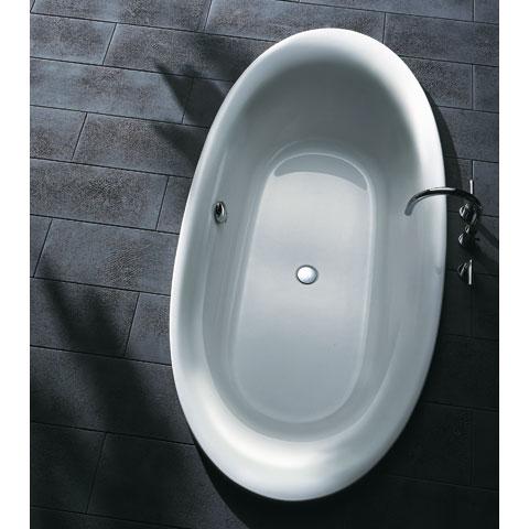 koralle progress ovale badewanne berlauf vorne weiss. Black Bedroom Furniture Sets. Home Design Ideas