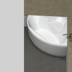 koralle t200 eck badewanne rund wei berlauf vorne. Black Bedroom Furniture Sets. Home Design Ideas