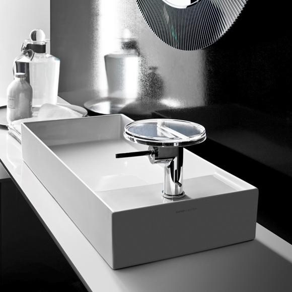 kartell by laufen waschtisch schale wei ohne berlauf mit 1 hahnloch 8123320001111 reuter. Black Bedroom Furniture Sets. Home Design Ideas