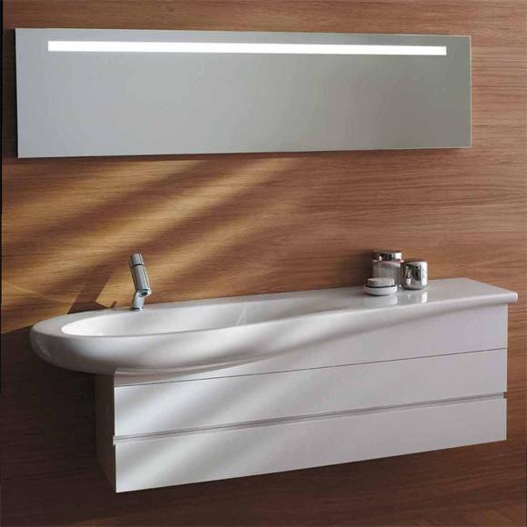 laufen alessi one waschtischunterbau 2 schubladen wei lackiert 4243600976311 reuter onlineshop. Black Bedroom Furniture Sets. Home Design Ideas