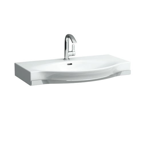 laufen palace countertop washbasin white with 1 tap hole. Black Bedroom Furniture Sets. Home Design Ideas