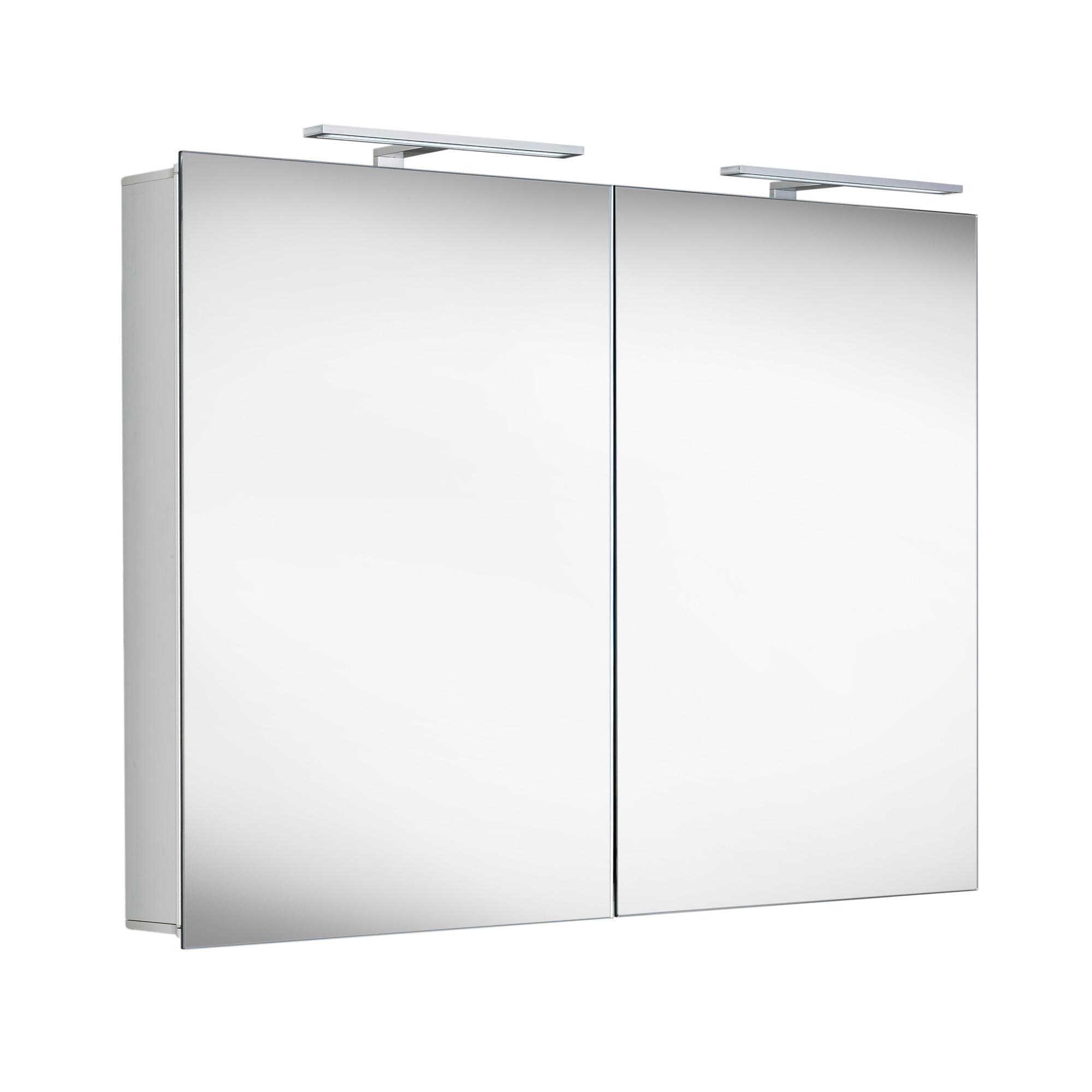 matedo entry sps spiegelschrank b 100 h 70 t 12 cm mit. Black Bedroom Furniture Sets. Home Design Ideas