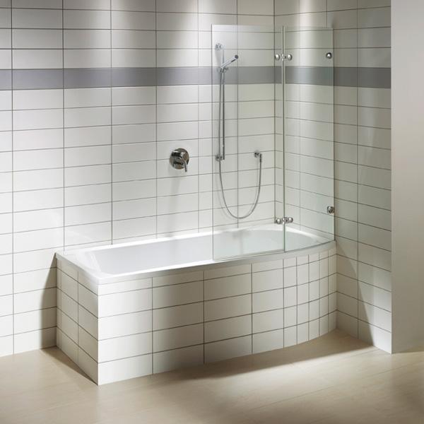 repabad arosa shower 170 links badewanne mit duschzone 25748we reuter onlineshop. Black Bedroom Furniture Sets. Home Design Ideas