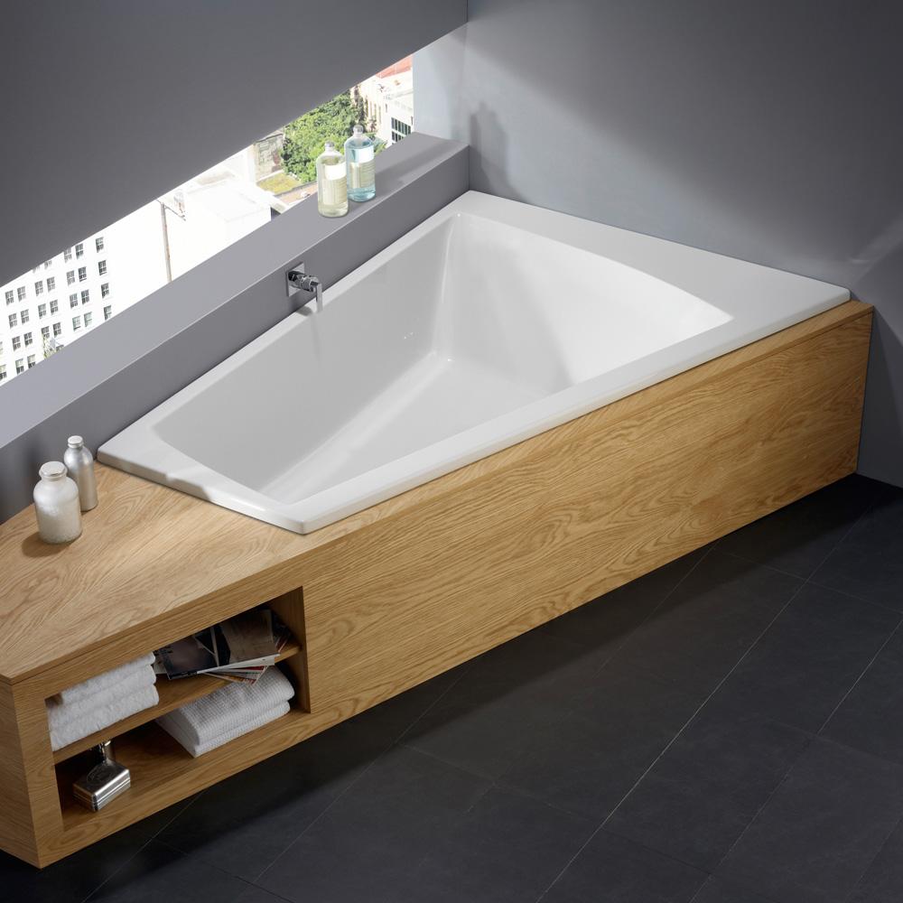 repabad genf duo links eck badewanne 25572we reuter. Black Bedroom Furniture Sets. Home Design Ideas