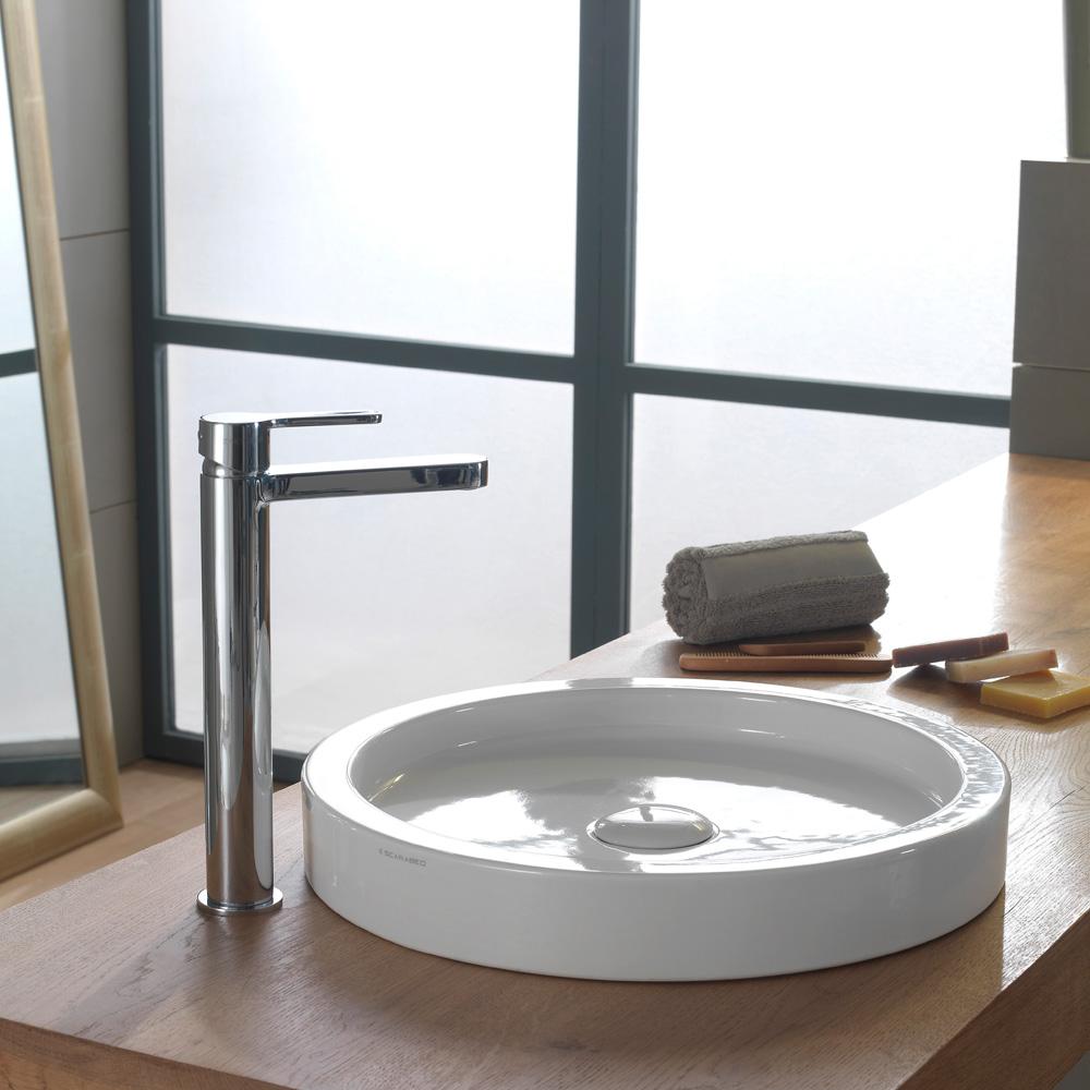 scarabeo bucket aufsatzwaschbecken 50 cm 8809 reuter onlineshop. Black Bedroom Furniture Sets. Home Design Ideas