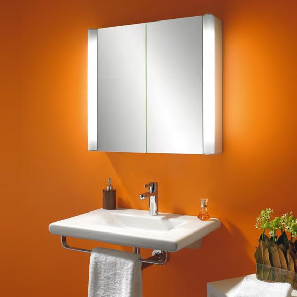 schneider moanaline spiegelschrank mit 2 t ren. Black Bedroom Furniture Sets. Home Design Ideas