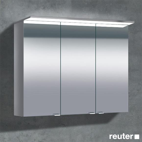 sprinz classical line aufputz spiegelschrank mit paneel beleuchtung ohne hintergrundbeleuchtung. Black Bedroom Furniture Sets. Home Design Ideas