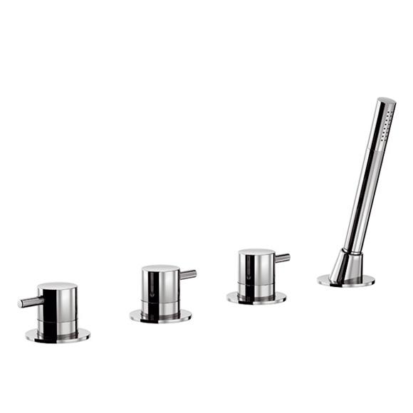 treos serie 190 4 loch wannenrandarmatur. Black Bedroom Furniture Sets. Home Design Ideas