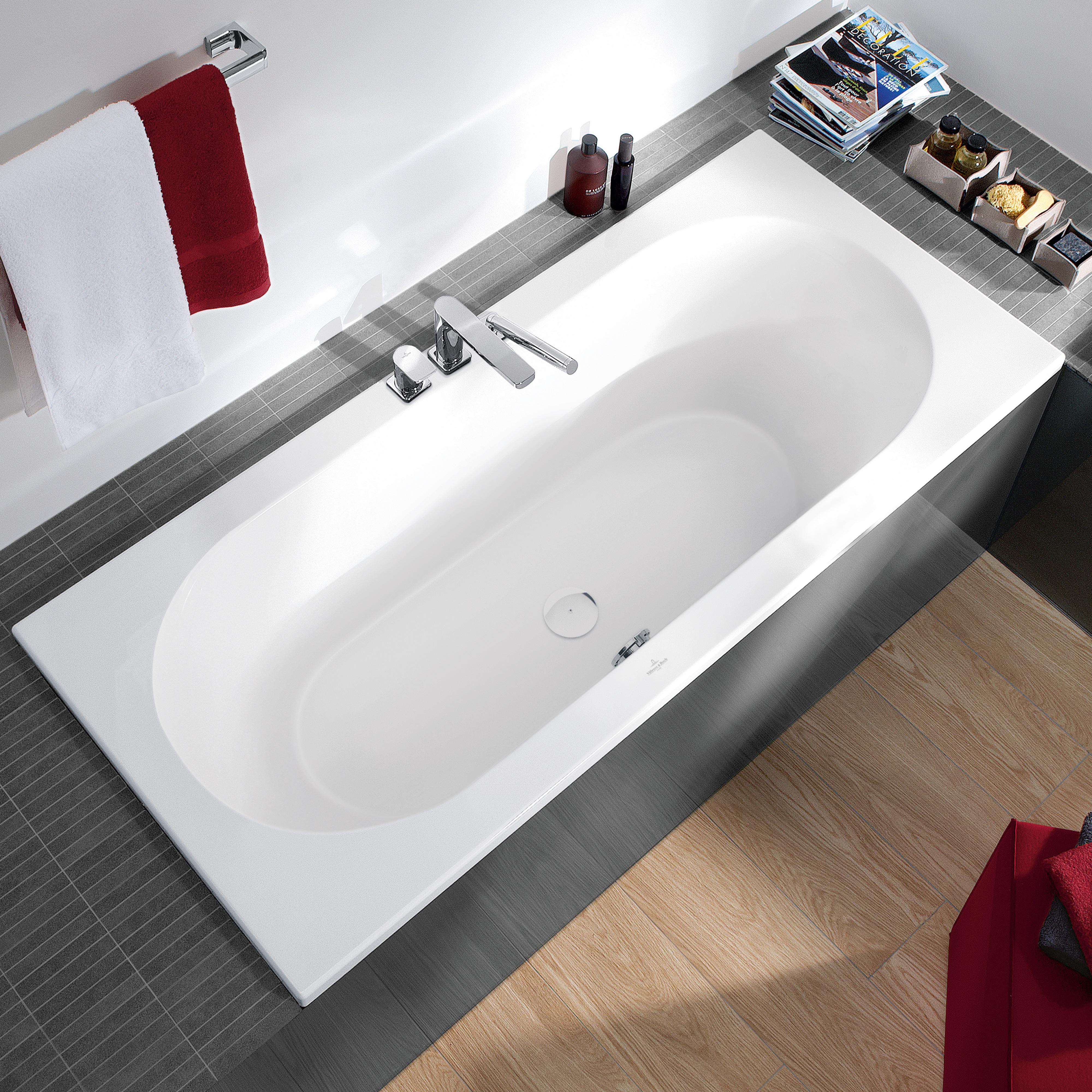 villeroy boch loop friends duo rechteck badewanne wei. Black Bedroom Furniture Sets. Home Design Ideas