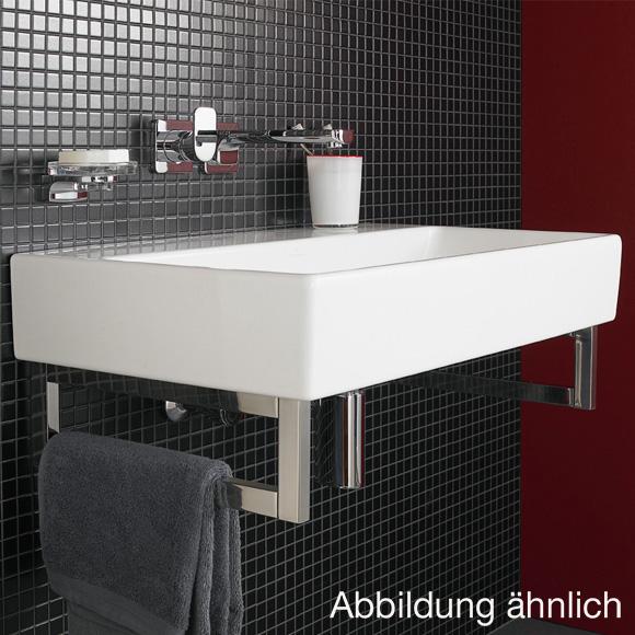 villeroy boch memento waschtisch f r montage mit m beln konsole wei ohne hahnloch 51338601. Black Bedroom Furniture Sets. Home Design Ideas