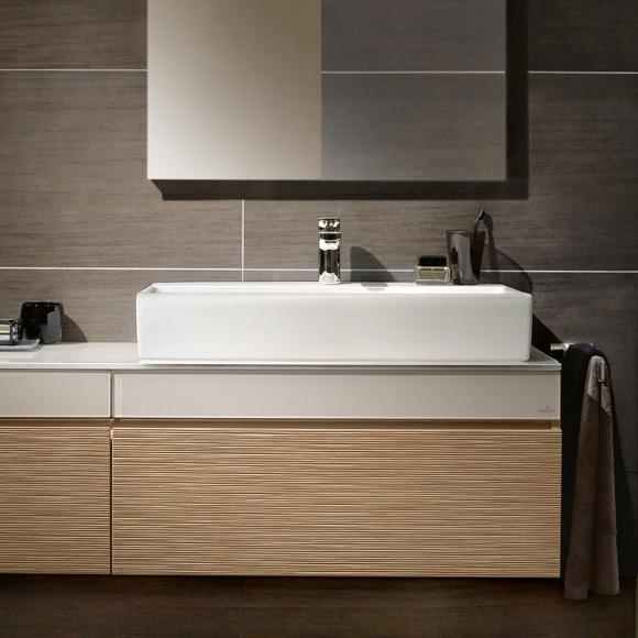 villeroy boch memento waschtisch f r montage mit m beln konsole wei mit 1 hahnloch 51338g01. Black Bedroom Furniture Sets. Home Design Ideas