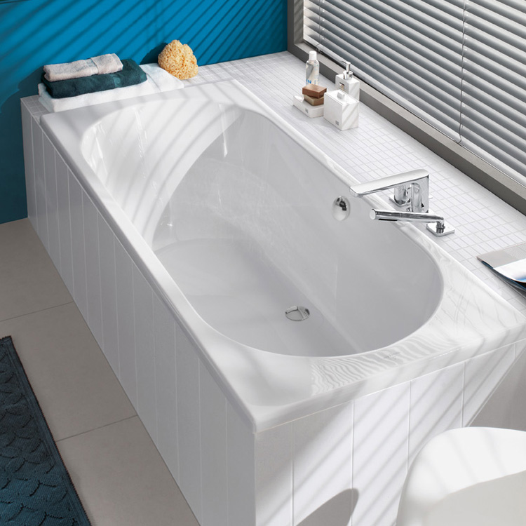 villeroy boch duo rechteck badewanne wei uba190cas2v 01 reuter onlineshop. Black Bedroom Furniture Sets. Home Design Ideas
