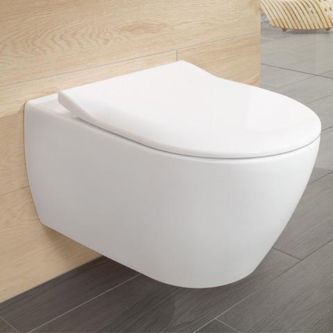 villeroy boch subway 2 0 wc sitz slimseat mit quick release und soft closing wei 9m78s101. Black Bedroom Furniture Sets. Home Design Ideas