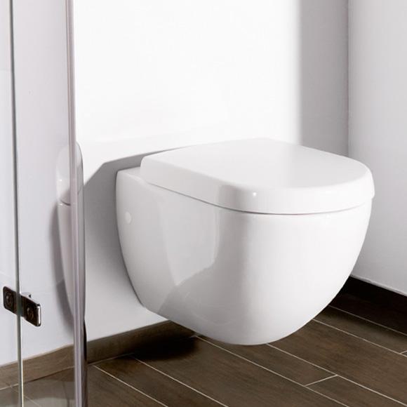 villeroy boch subway tiefsp l wand wc l 56 b 37 cm wei 66001001. Black Bedroom Furniture Sets. Home Design Ideas